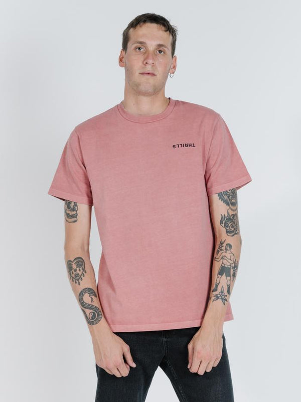 Broken Paradise Merch Fit Tee - Cedar Wood