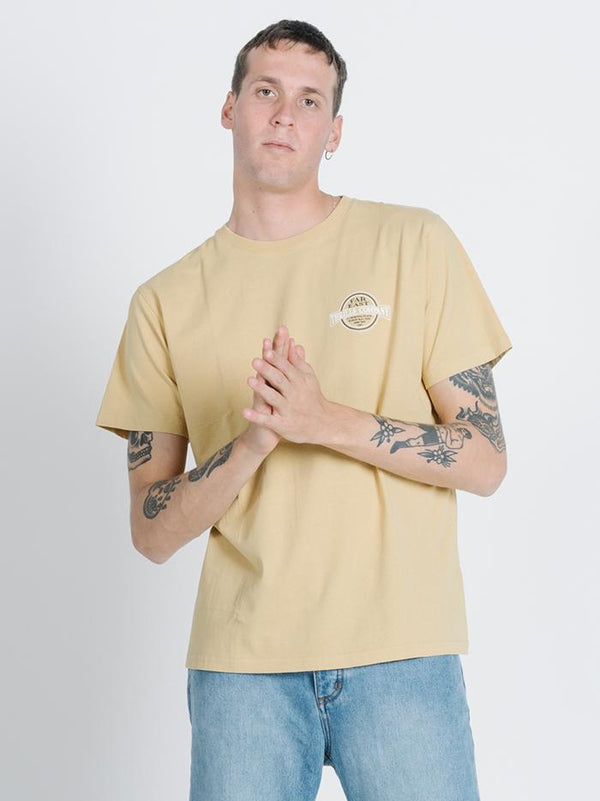 Byron Born Merch Fit Tee - Heritage Yellow