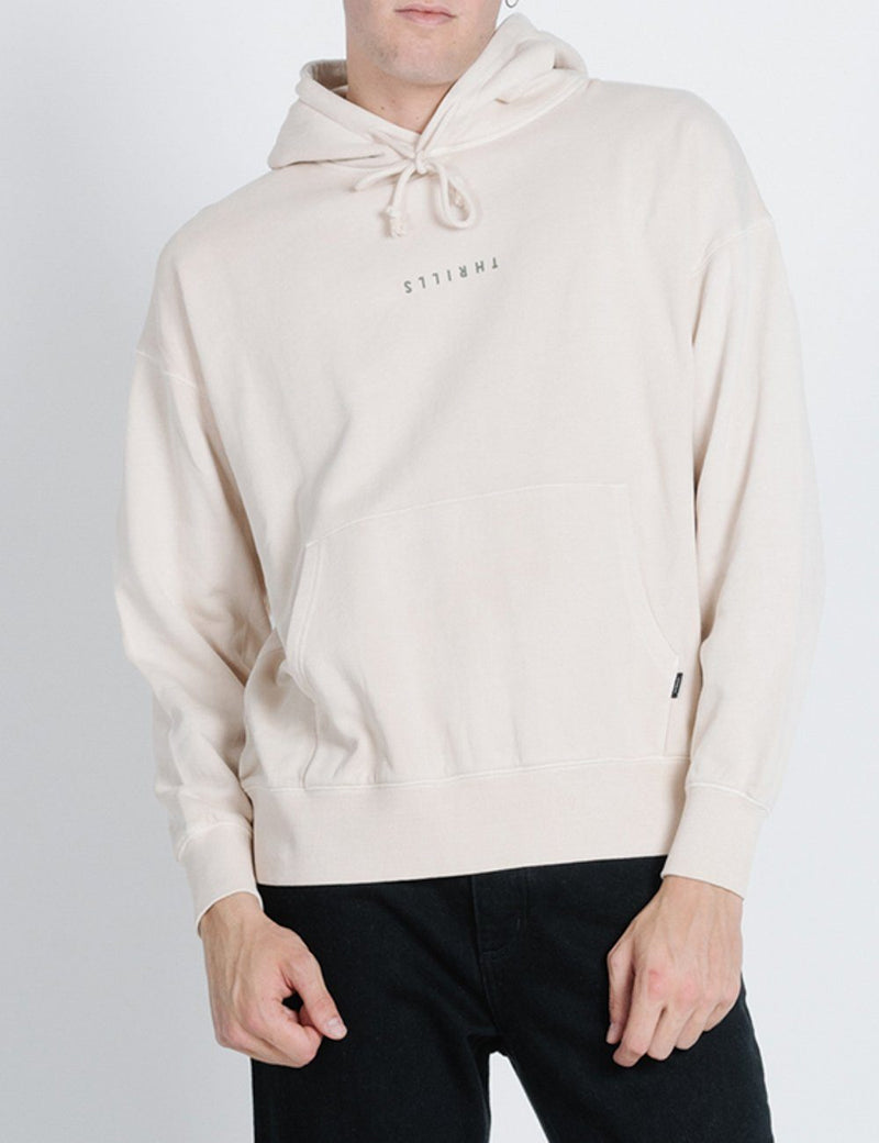 Minimal Thrills Slouch Pull on Hood - Thrift White
