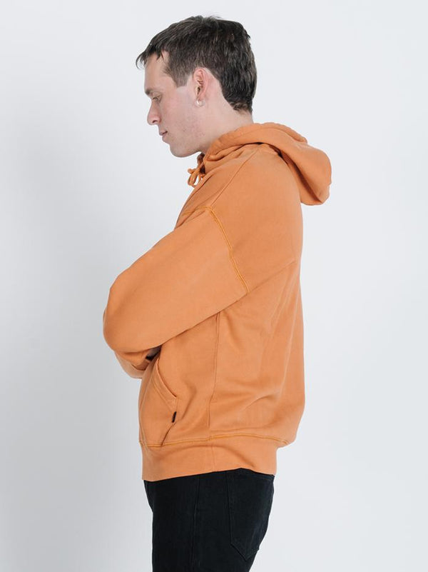 Power Slouch Pull on Hood - Detox Orange