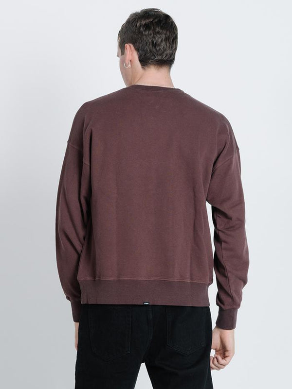 Liberty Slouch Crew - French Roast