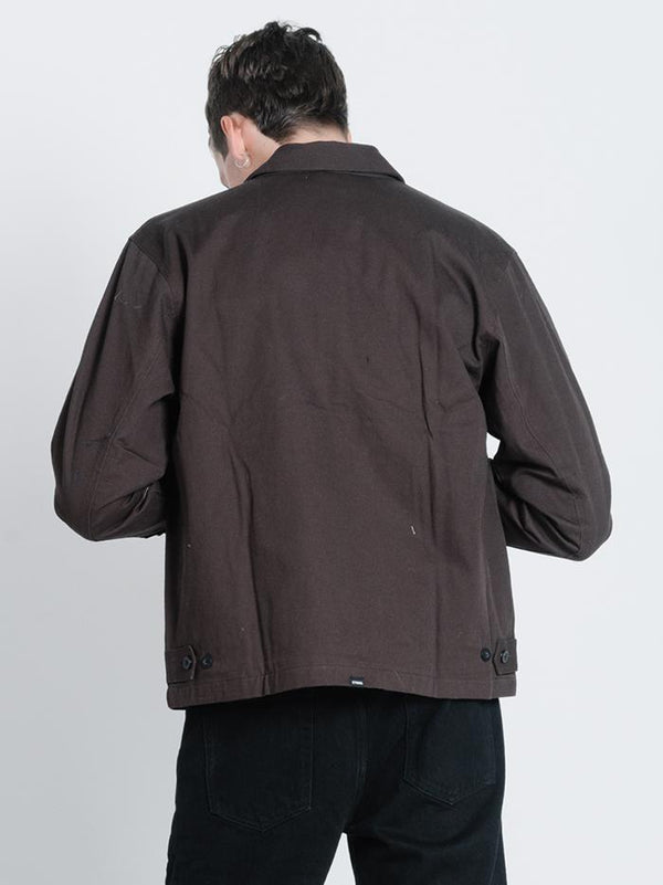 Liberty Jacket - Postal Brown