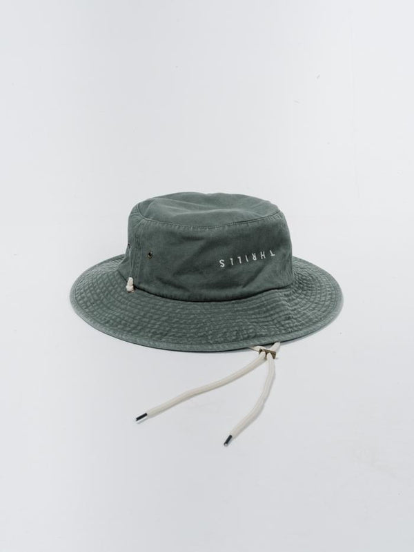Minimal Thrills Boonie Hat - Army Green
