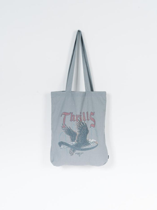 Storm The Castle Tote - Washed Grey