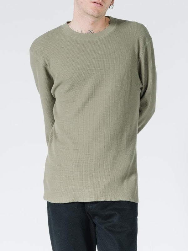 OPS Waffle Long Sleeve - Military