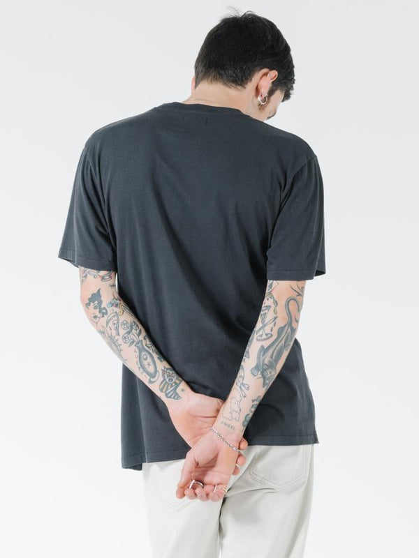 Minimal Thrills Merch Fit Tee - Heritage Black