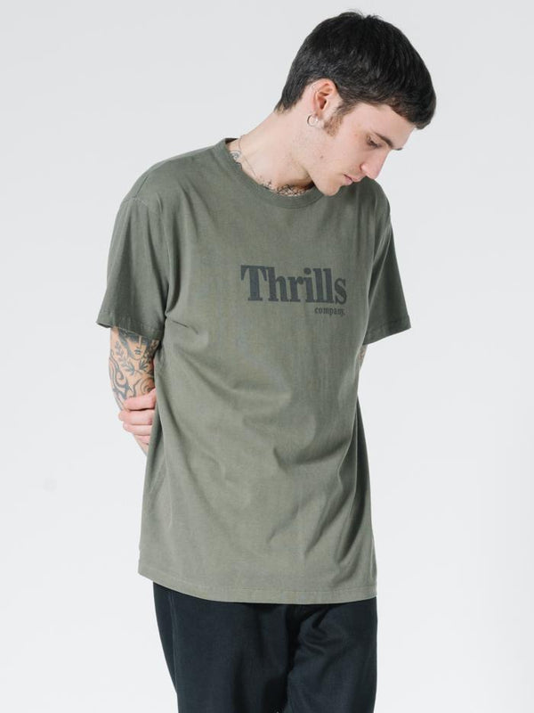 OPS Box Fit Tee - Military