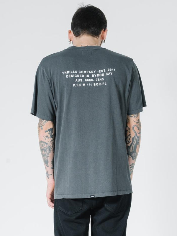 Napalm Merch Fit Tee - Merch Black