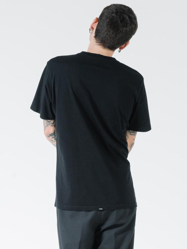 Ride On Merch Fit Tee - Black