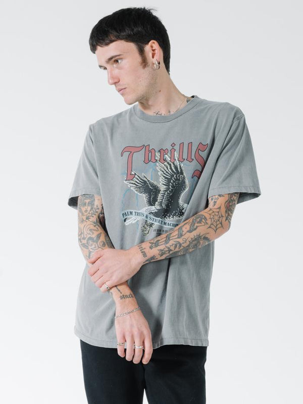 Storm The Castle Merch Fit Tee - Washed Grey