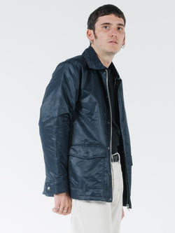 Station Jacket  - Washed Navy