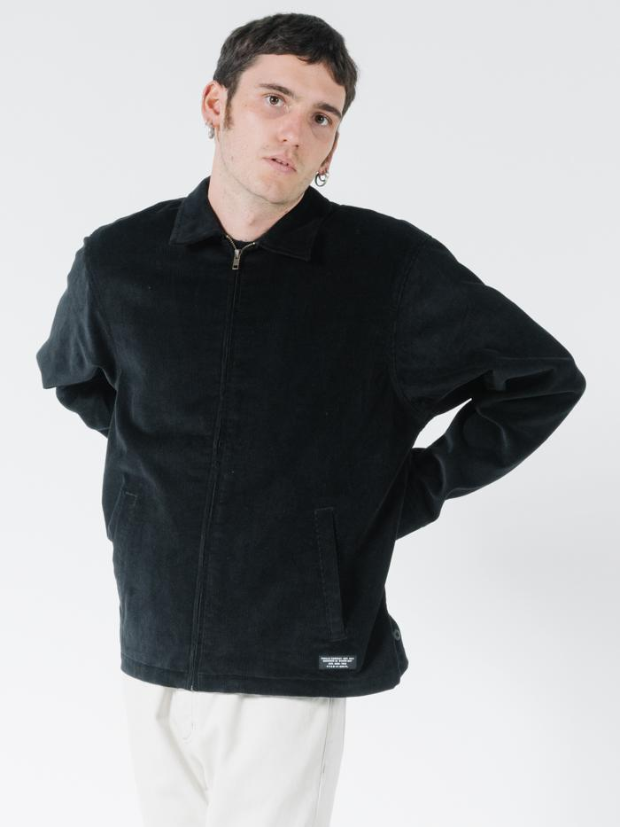 Striper Work Jacket - Black
