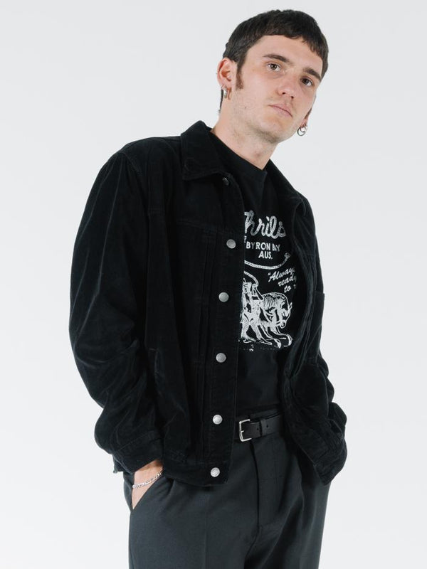 Ride On Jacket  - Black