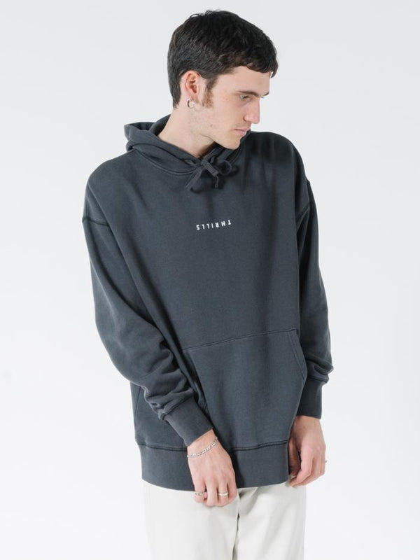 Minimal Thrills Slouch Pull On Hood - Heritage Black