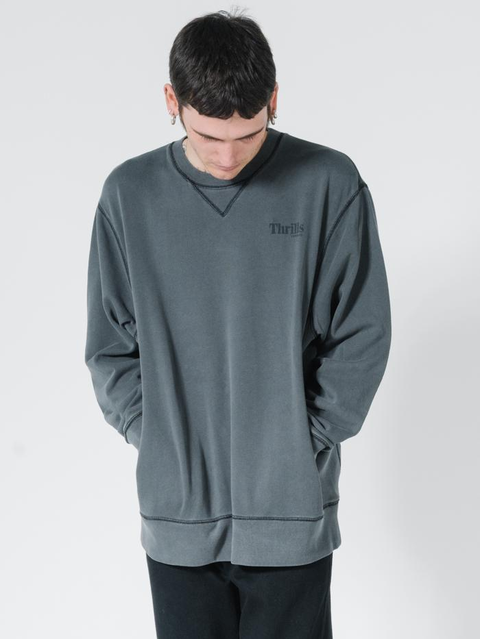 OPS Oversized Crew - Merch Black