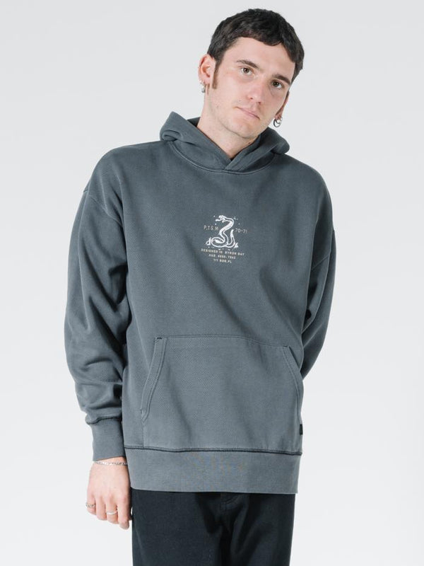 Napalm Slouch Pull On Hood - Merch Black