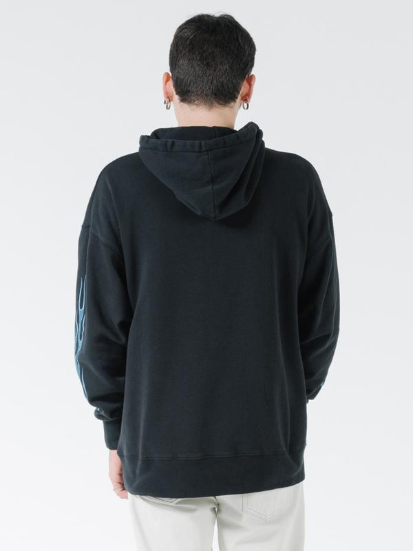 Gateway Slouch Pull On Hood - Black