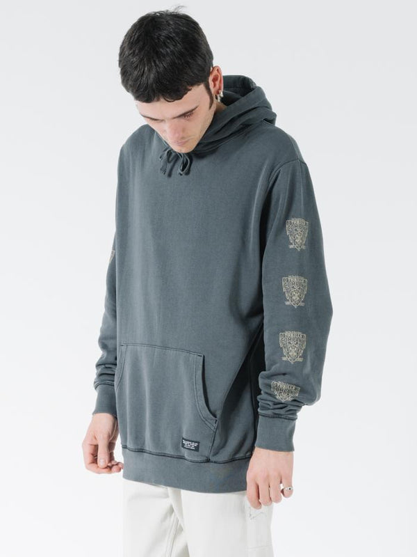 Recovery Slouch Pull On Hood - Merch Black