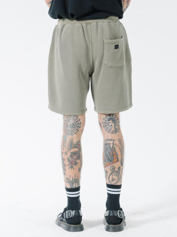 Tonal Stacked Thrills Company Fleece Short - Desert