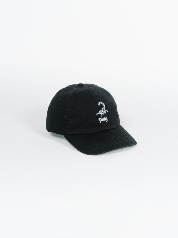 Scorpion Island Cap - Black