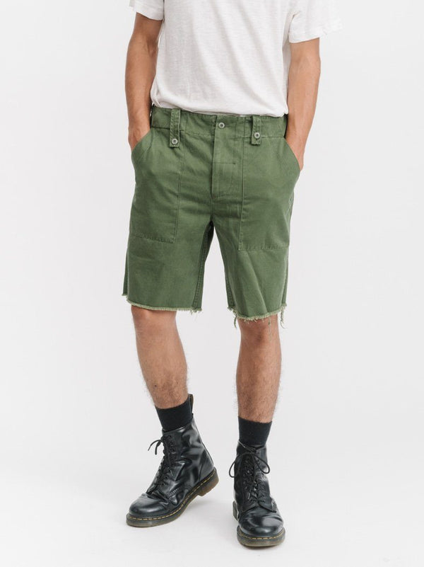 Military Surplus Short - Army Green