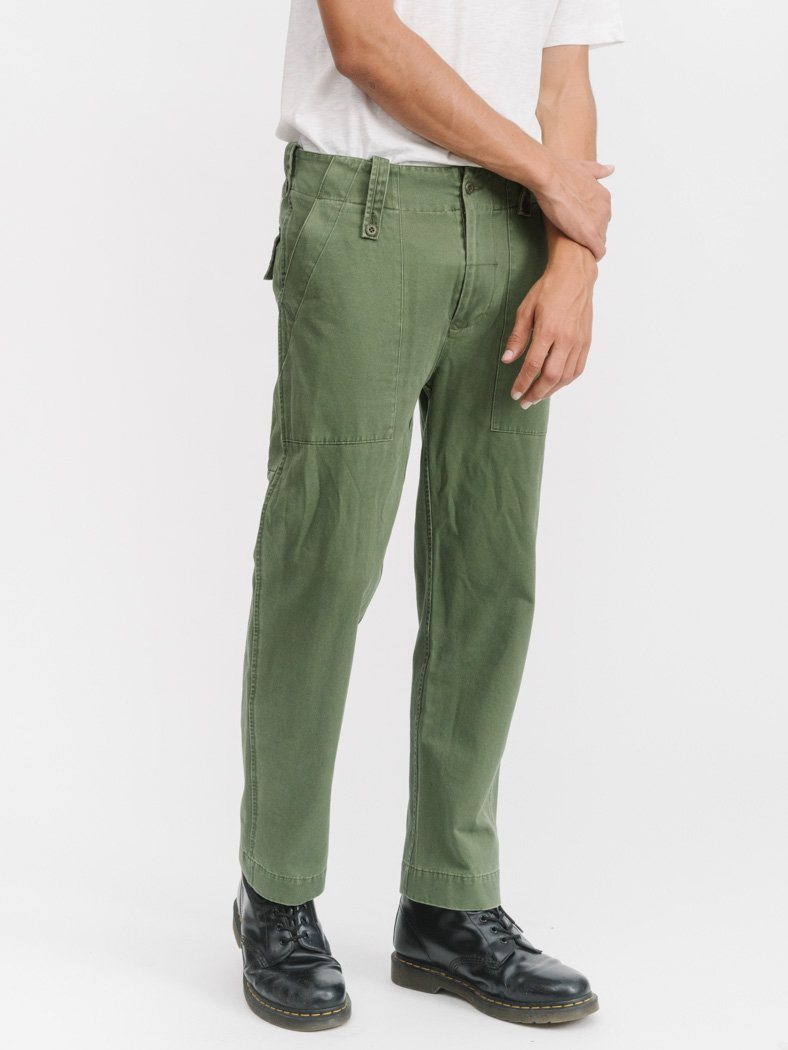 Military Surplus Chinos - Army Green