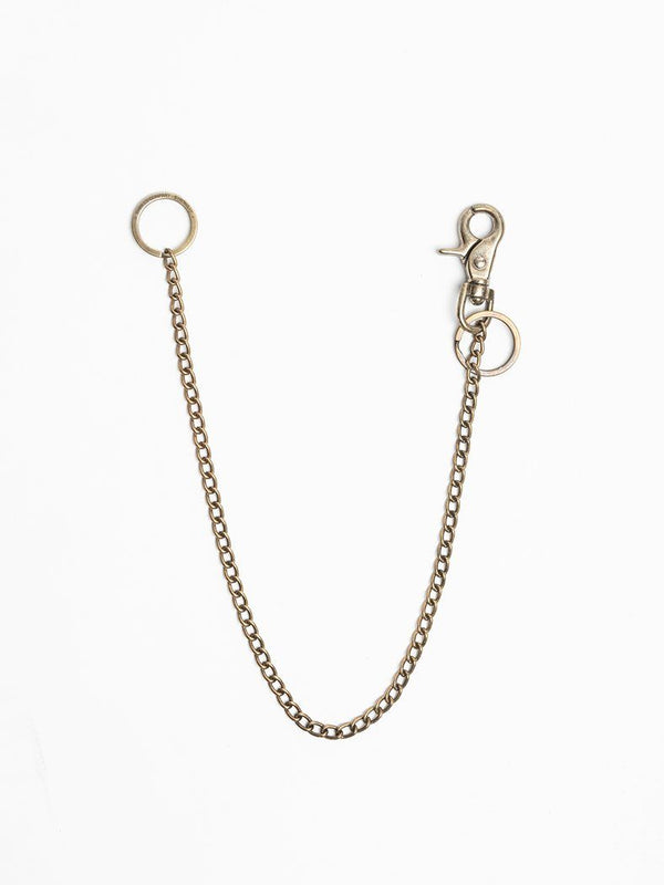 Wallet Chain - Brass