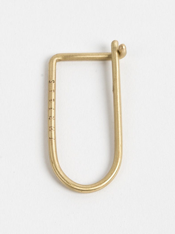 Thrills Key Hook - Brass