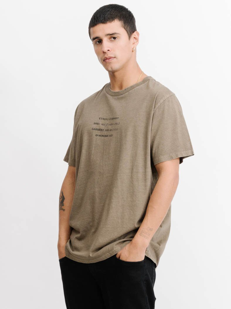 Spec Merch Fit Tee -  Desert