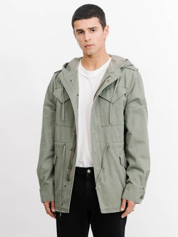 Courier Army Trench -  Army Green