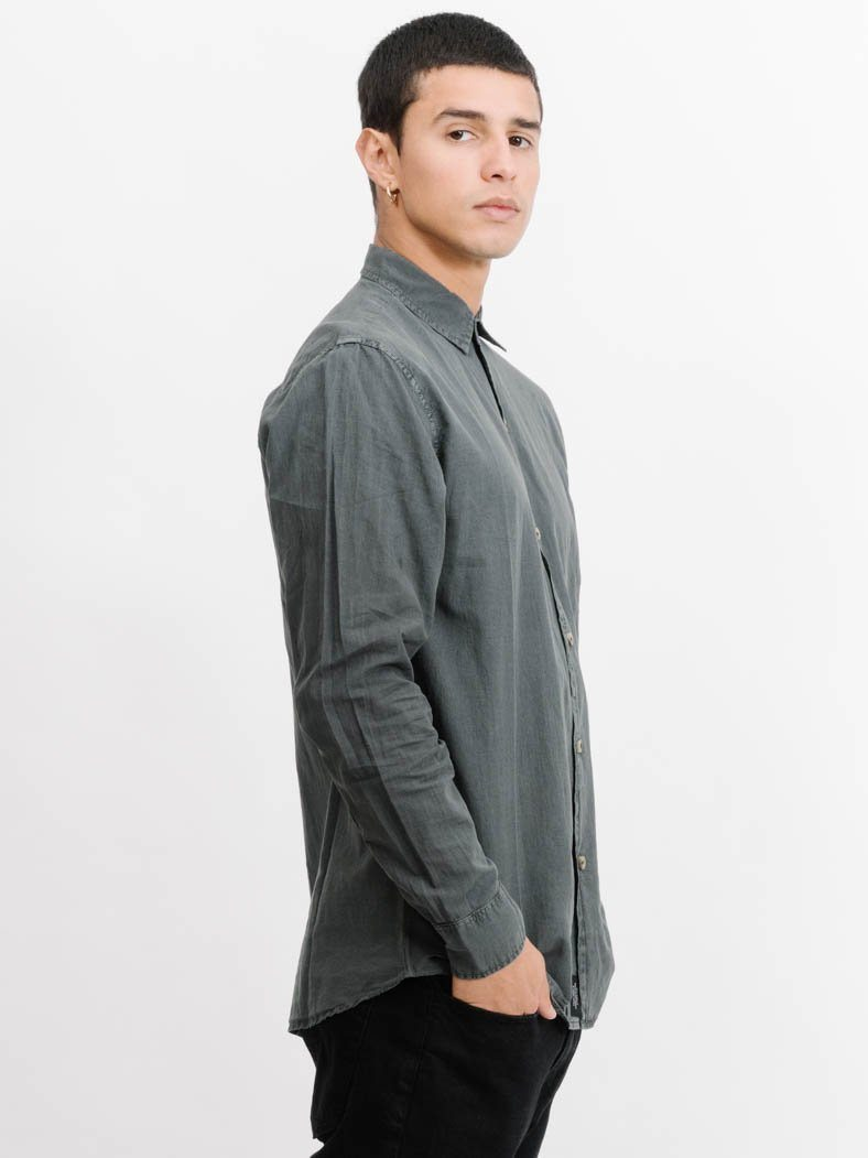 Inside Long Sleeve Shirt -  Merch Black