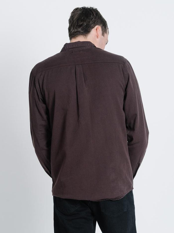 Pocket Canyon Long Sleeve Shirt - Postal Brown