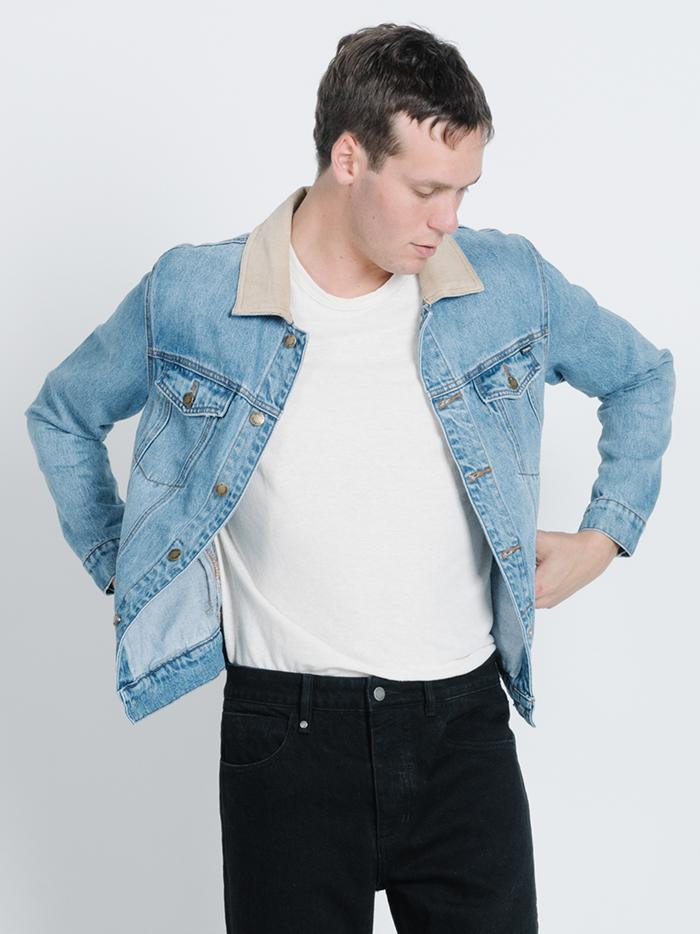 Wanderer Denim Jacket - Trucker Blue