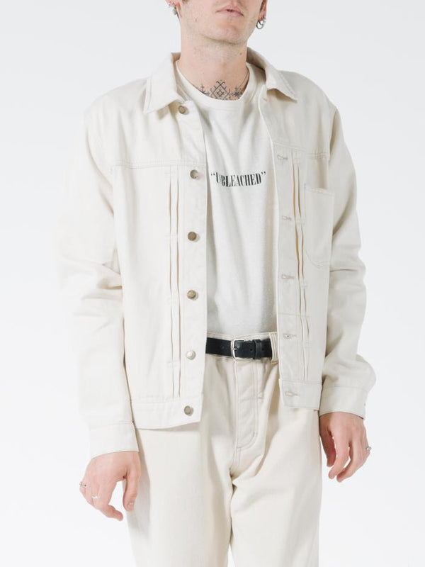 Ryder Oversized Denim Jacket - Unbleached