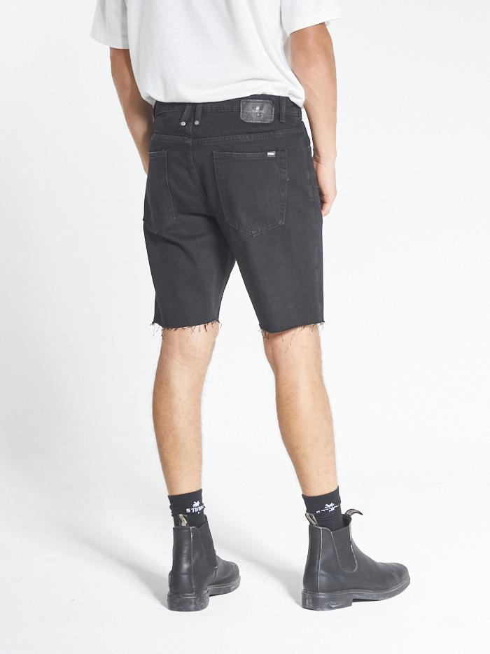 Chopped Denim Short - Black Rinse