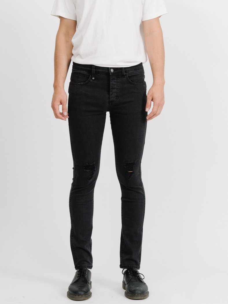 Destroy Shadow Jean - Faded Black