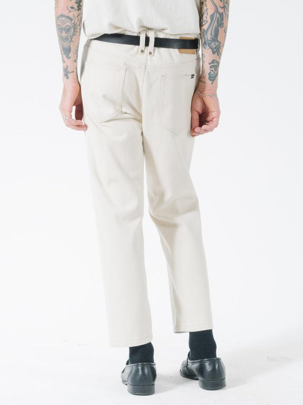 Chopped Denim Jean - Unbleached