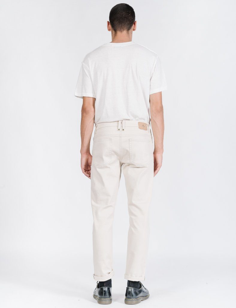 Bones Denim Jean - Dirty White