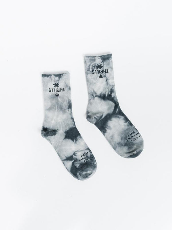 Moonshine sock - Charcoal Tie Dye