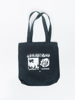 Flaming Moe Tote - Black