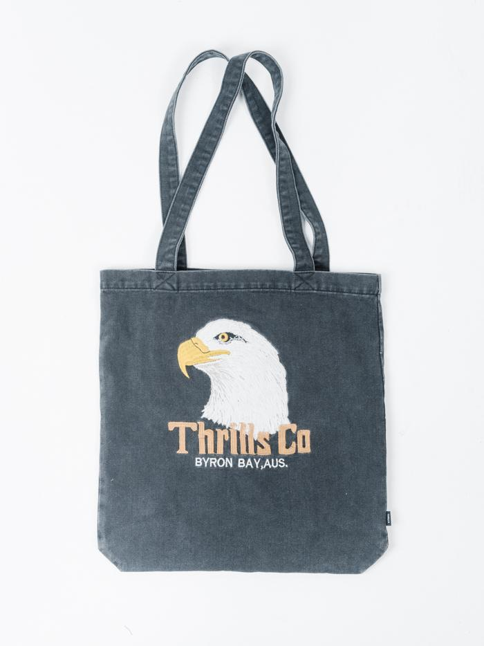 Thrills Reliance Denim Tote - Faded Black