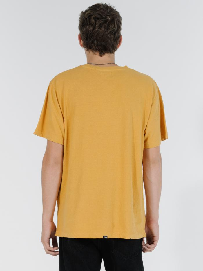 Soulfire Merch Fit Tee - Mineral Yellow