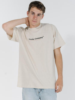 Found Merch Fit Tee - Natural Speckle Marle