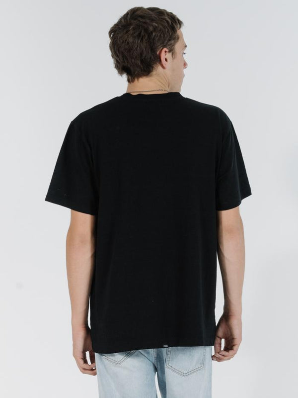 Found Merch Fit Tee - Black