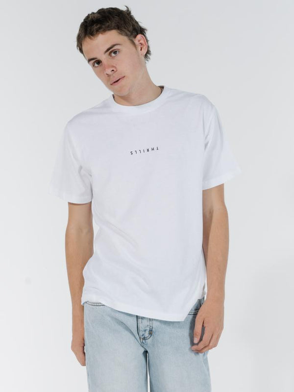 Minimal Thrills Merch Fit Tee - White