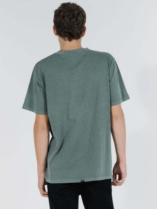 Minimal Thrills Merch Fit Tee - Lume Green
