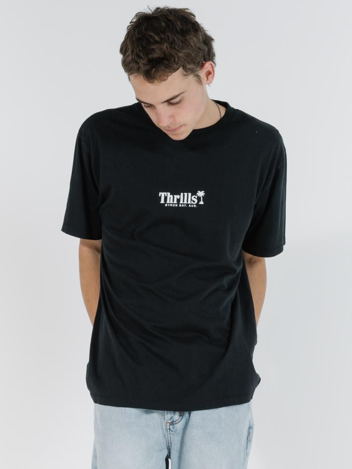 Palm of Thrills Merch Fit Tee - Black