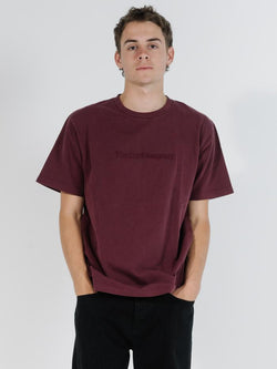 Tonal Thrills Company Merch Fit Tee - Windsor Wine