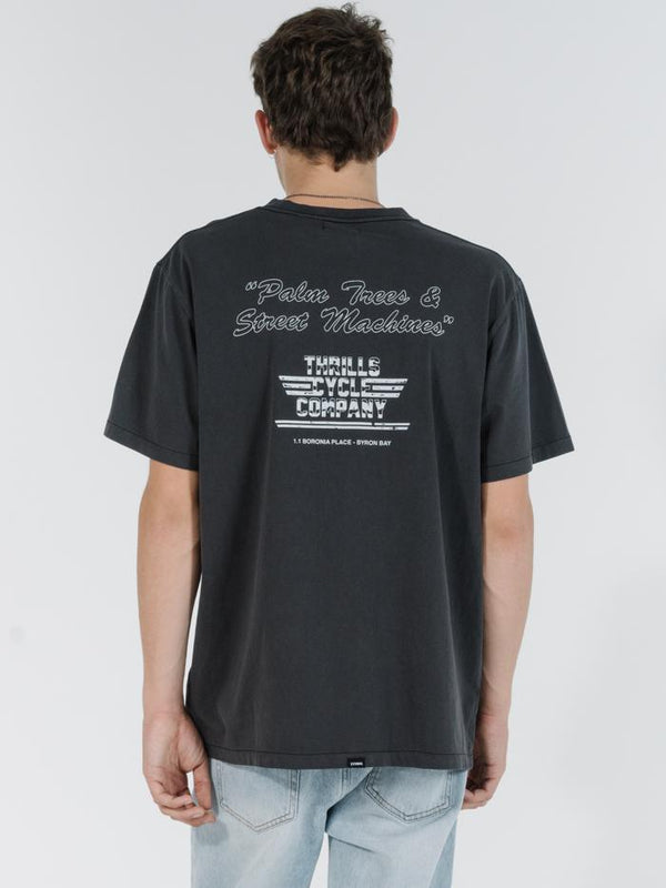Rattler Merch Fit Tee - Vintage Black