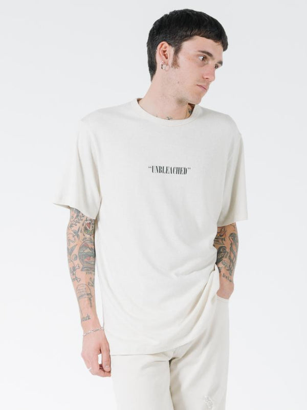 Unbleached Merch Fit Tee - Unbleached